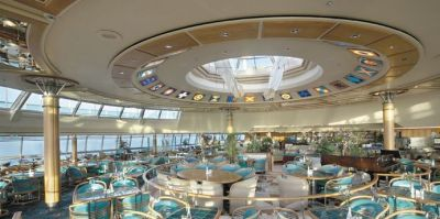 Шведский стол Windjammer Cafe на лайнере Vision of the Seas